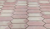 Mexican Floor Tile Picket Pattern