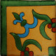 Yellow Liz Corner Talavera Mexican Tile
