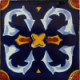 Ribbon Talavera Mexican Tile