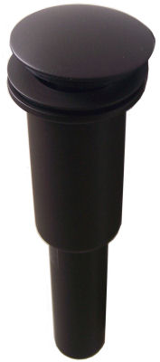 Oil Rubbed Bronze Soft Touch Bathroom Sink Drain - MT745/ORB