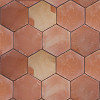 Hexagon Clay Saltillo Tile