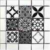 Marsan Mexican Tile Set Backsplash Mural