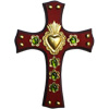 Copales Mexican Wooden Cross