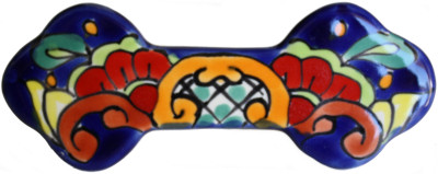 Rainbow Talavera Ceramic Drawer Pull