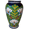 Lily Mermaid Talavera Flower Vase