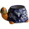 Blue Turtle Talavera Ceramic Planter