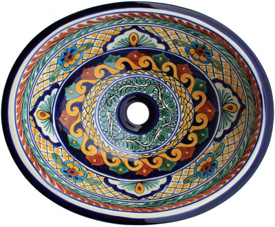 Meadow Ceramic Talavera Sink