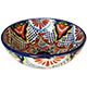 Small Azalea Ceramic Talavera Mexican Vessel Sink