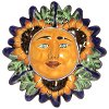 Sunflower Talavera Ceramic Sun Face
