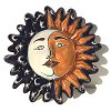 Small Eclipse Talavera Ceramic Sun Face