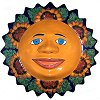 Big Sunflower Talavera Ceramic Sun Face