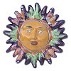Fish Talavera Ceramic Sun Face