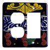 Decora-Outlet Marigold Talavera Switch Plate