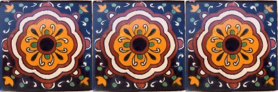 Full Cupula Talavera Mexican Tile Details