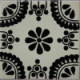 Black Madrid Talavera Mexican Tile