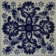 Blue Web Talavera Mexican Tile