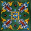 Green Oasis Talavera Mexican Tile