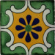 Arab Green Talavera Mexican Tile