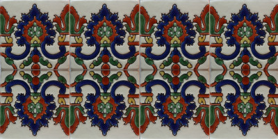 Alhambra Kashana 3 Mexican Tile Close-Up