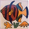 Tropical Sea Fish Talavera Mexican Tile