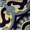 Blue Vicenza Talavera Mexican Tile